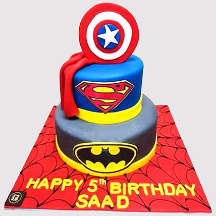 Special Marvel Avengers Cake: Avengers Cakes