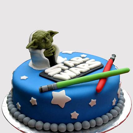 Star Wars Yoda Cake: Star Wars Birthday Cakes