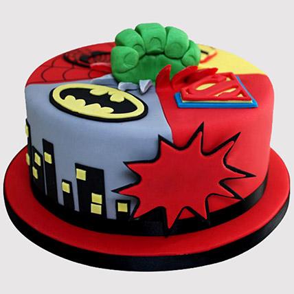 Superheroes Avengers Cake: