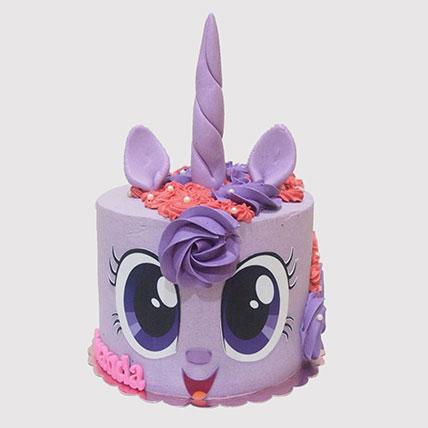 Twilight Sparkle Cake: Little Pony Cake