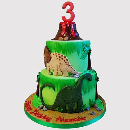 Online Volcano Jungle Chocolate Cake Gift Delivery In Uae Ferns N Petals