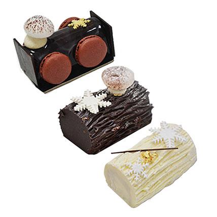 Delicious Mono Log Cake Combo: New Year Cakes