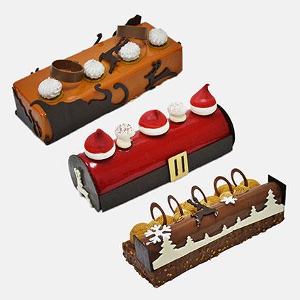 Flavoursome Log Cake Combo: Log Cake