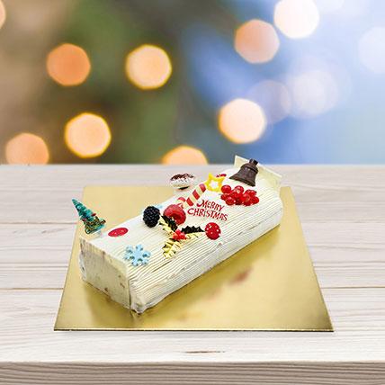 Vanilla Log Cake: Log Cakes