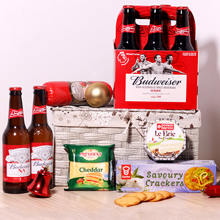 Budweiser Non Alcoholic And Snacks: New Arrival Gifts