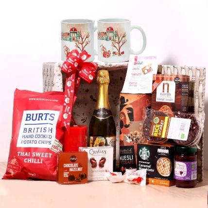 Christmas Wishes Snack Basket: Chocolates