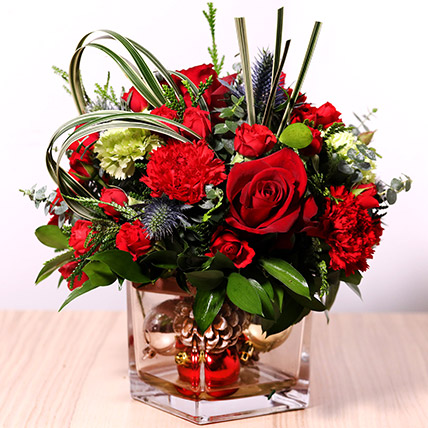 Decorative Xmas Floral Vase: New Arrival Gifts