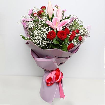 Enchanting Flower Bouquet: Birthday Flower Bouquets