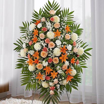 Charming Blooms: Flower Wreath