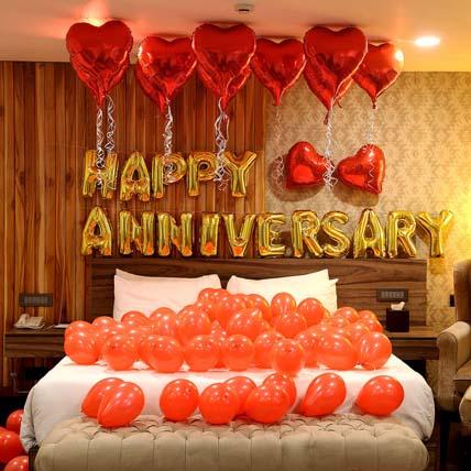 Anniversary Celebration: Balloon Decorations