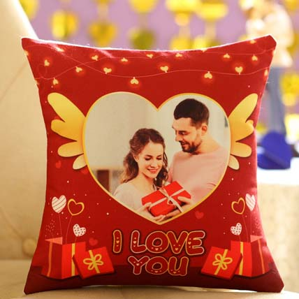 Romantic Personalised Cushion For Valentines Day: Personalised Cushions