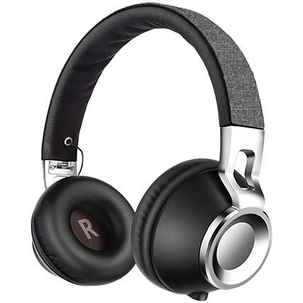 Black N Grey Bluetooth Headphone: Travel Accessories