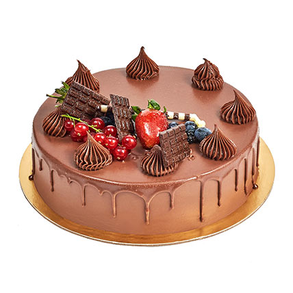 4 Portion Fudge Cake:  Gifts Delivery