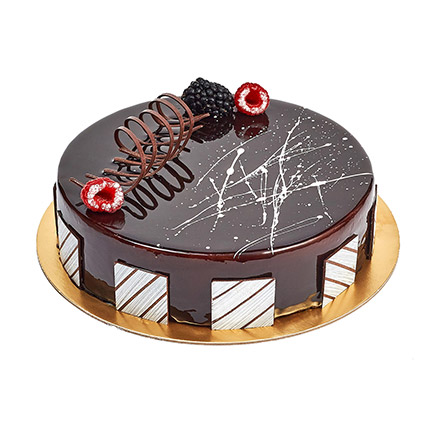 Chocolate Truffle Birthday Cake: Cake Delivery in Fujairah