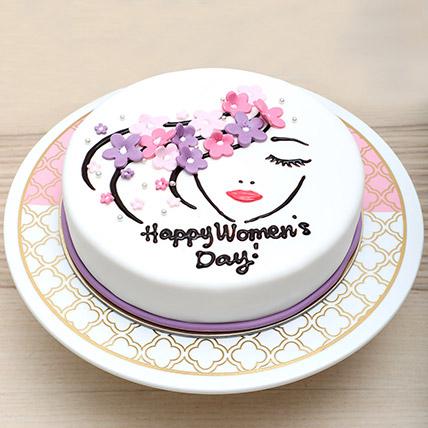 Chocolate Womens Day Cake: Women's Day Gifts