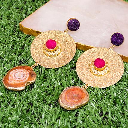 Contemporary Drop Earrings: Earrings for Women