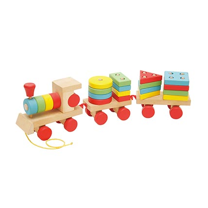 Train Shaped Toy: Educational Games