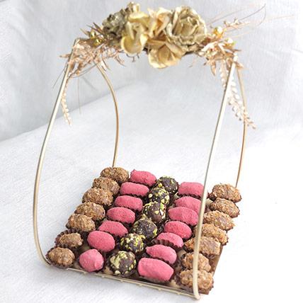 Crunchy Dates Elegant Arrangement: Dates