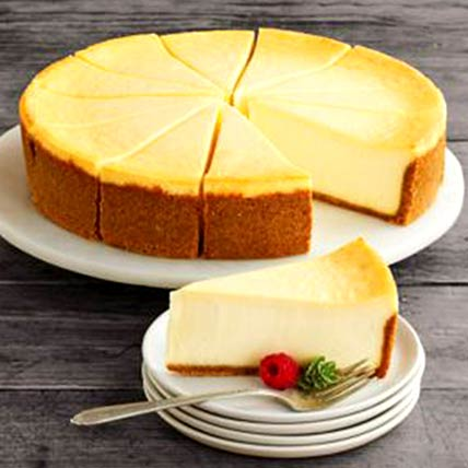 Frozen New York Cheesecake: Cake Delivery in Fujairah