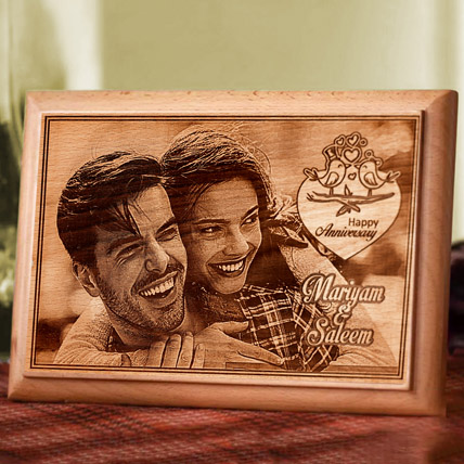 Personalised Photo Plaque: Anniversary Gift Ideas for Husband