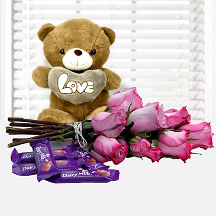 Fall in Love Again: Flowers and Chocolates