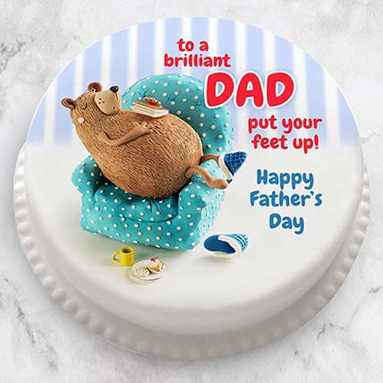 Brilliant Dad Cake: Happy Fathers Day Cakes
