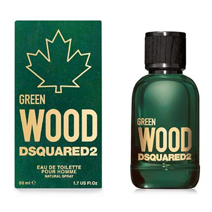 Dsquared2 Green Wood EDT For Men 50ml: Perfumes For Men In Dubai