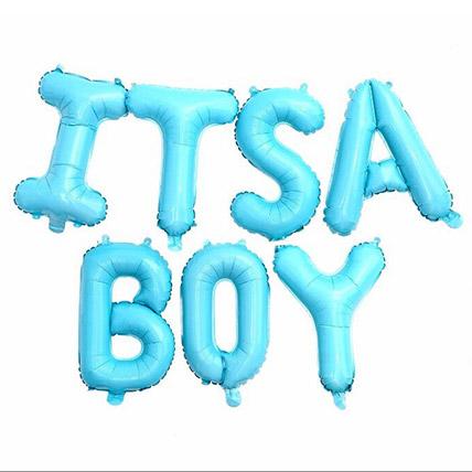 Its a Boy Alphabet Balloon: Baby Gifts in Dubai