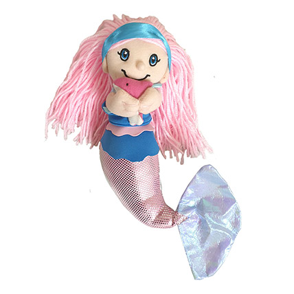 Soft Toy Mermaid Holding Baby Dolphin: Soft Toys