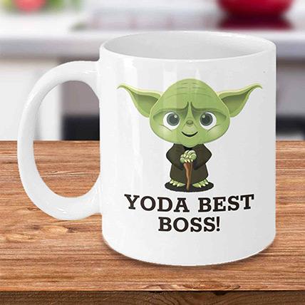 Yoda Best Boss Mug: