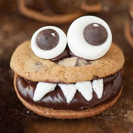 Choco Monster Cookies: Cookies