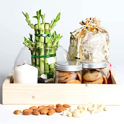 Snack Treat with Bamboo: