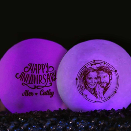 Luminous Lamp with Engraving  10cm: Unique Gifts Dubai