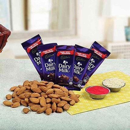 Bhai Dooj Choco Hamper: Bhai Dooj Gifts