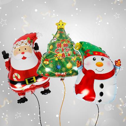 Christmas Celebration with Balloon Set: Christmas Gift Ideas