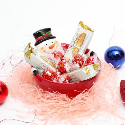 Happy Snowman Treats: