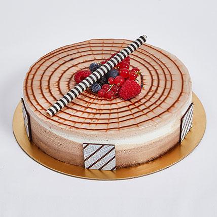 4 Portion Triple Chocolate: Anniversary Cake