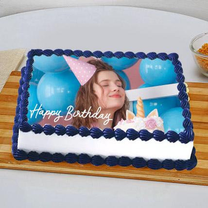 Birthday Photo Cake For BFF: