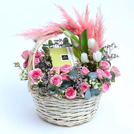 Gesture of Love N Sweetness: Basket Arrangements