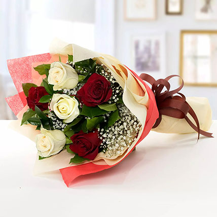 Beauty of Red n White Roses: St. George Day Gifts