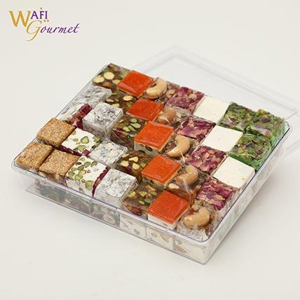 Mixed Malban and Nougat Gift Box 1.035kg: Wafi Gourmet