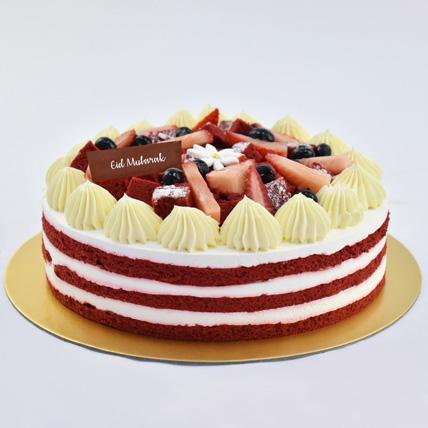 Red Velvet Cake For Eid: Eid Gift Ideas