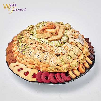 Wafi gourmet Assorted sweet basket: