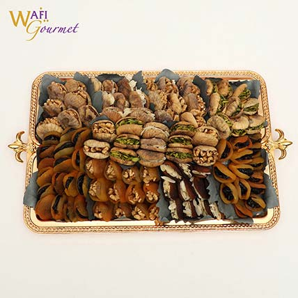 Plate of Mixed Dried Fruits 3.152kg: