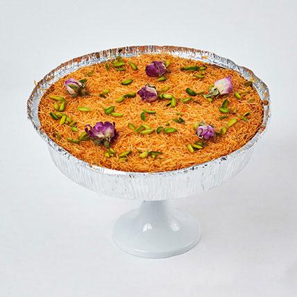 The Perfect Kunafa Cheesecake 8 Portion: Baklava Sweets