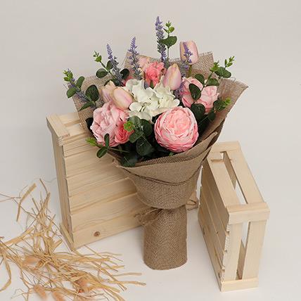 Exotic Artificial Mixed Flowers Bouquet: Artificial Flowers Dubai