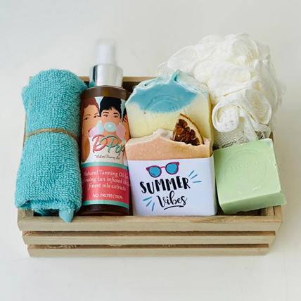 The Summer Vibes Gift Basket For Her: