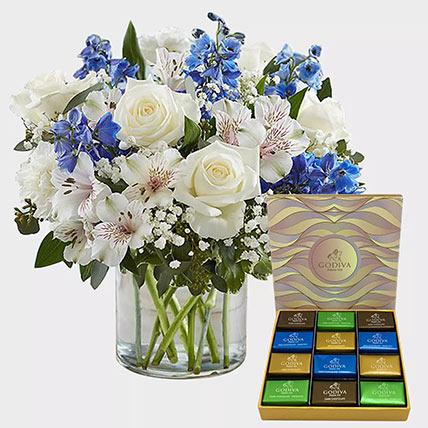 Royal Blooms and Godiva Chocolate Bar: Godiva Chocolate Dubai