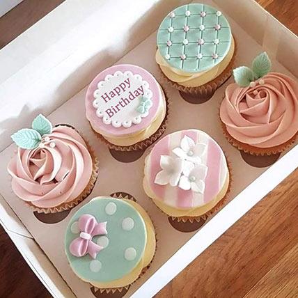 Birthday Decorated Cupcakes: Cakes In Dubai