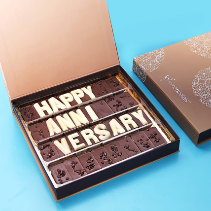 Happy Anniversary Chocolate: Chocolates Delivery with in One Hour